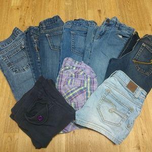 Girls bundle size 8 mixed brands